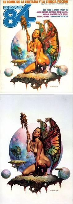 Fantasy Concept Art, Dark Fantasy Art, Fantasy Artwork, Boris Vallejo, Borneo, 3d Chalk Art, Pixel Art, Fantastic Art, Awesome