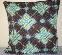 I have always loved texture on my quilts, so recently I have been experimenting with making chenille cushions. So I thought, why not have a...