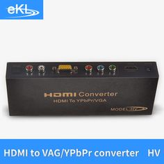 >> Click to Buy << EKL HDMI TO VGA YPBPR Converter Video with R/L Audio #Affiliate