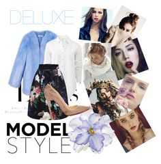 """Deluxe"" by llmontiel ❤ liked on Polyvore featuring H&M, THP, rag & bone, Universal Lighting and Decor and Christian Louboutin"