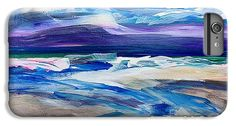 Waves of the Sea 1 iPhone 6 Plus Case by Gale Patterson.