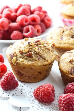 I like baking muffins on a Saturday morning so that we have something to snack on all weekend long. It's also nice to have a house filled with the aroma of muffins and coffee on a weekend morning. ...