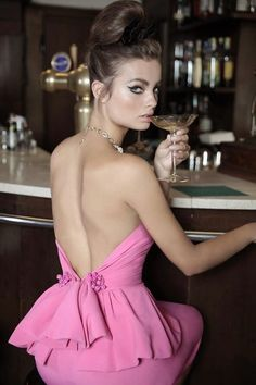 Style Inspitation | DSquared2 summer 2014 / Pink Dress (capsule collection)