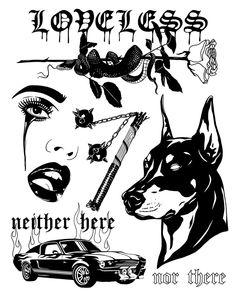 Chicano Tattoos, Dope Tattoos, Black Tattoos, Body Art Tattoos, Small Tattoos, Tattoo Flash Sheet, Tattoo Flash Art, Tattoo Sketches, Tattoo Drawings