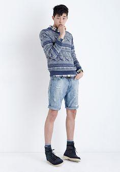 "stardustmodel: "" 남주혁 Nam Joo Hyuk Thursday Island 2014 S/S Lookbook Photo from thursdayisland.com """