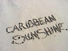 Everyone`s Creative Travel Spot can enjoy a little more..... Caribbean Sunshine
