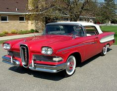 Sept. 4, 1957, Ford Motor Company introduces the ill-fated Edsel, a model which proved so unpopular that it was taken off the market in 1959.