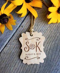 Autumn Fall Jam Jar Custom Wedding Gift by WoodenWeddingPuzzles