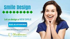 Let us design a new smile by SmileDesign Designs your smile according to your requirements