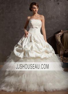 Chapel Train Satin  Tulle Church Scalloped Neck Sleeveless wedding dress