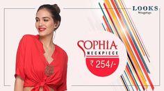 Showcase your love & classy taste for #Sophia Neckpiece. http://bit.ly/2acvAco  #Fashion #Trends #Accessories