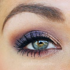 Agape Love Designs: Get The Look | Too Faced Chocolate Bar Palette Collab Video