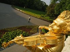 Vienna, Austria -- Stadtpark honors Johann Strauss