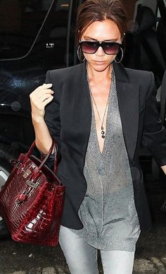 1c6fddf077795 Victoria Beckham. greys and black..maybe not see through Hermès Bags