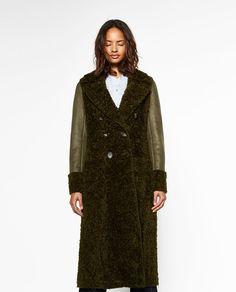 ZARA - WOMAN - LONG CROSSOVER COAT