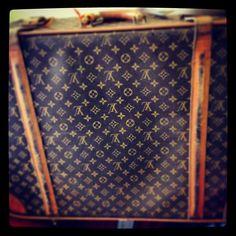 vintage Louis Vuitton travel bag