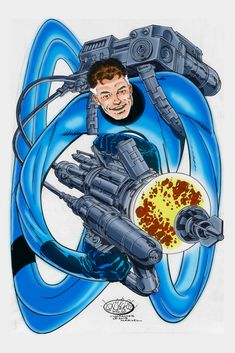 Mr. Fantastic -  The Art of... Ben Price: More John Byrne commissions colored by me. ...