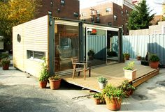 Shipping Container Homes: Meka West Village Container Home