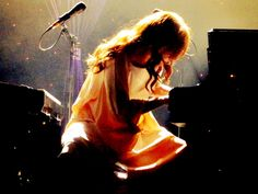 Photo I took of Tori in Vienna, Austria, October 25th, 2011.    Opening chords of Smells Like Teen Spirit, that my friend Dawid requested. Goosebumps.    This is gorgeous.