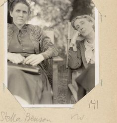 Stella Benson and Virginia Woolf