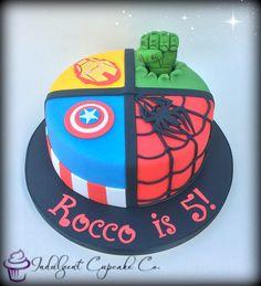 Avengers cake......