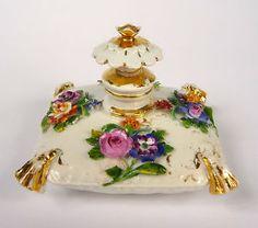Flakon Parfumflakon Meissen um 1810 Perfume Flacon http://designyourownperfume.co.uk/