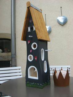 Nistkästen & Vogelhäuser - Wunderschöne Vogelvilla für den Garten - ein Designerstück von inse-10 bei DaWanda