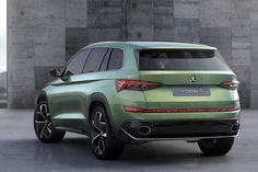 Skoda VisionS SUV Concept Revealed: Skoda revealed today their first SUV concept, which is called the VisionS. The Skoda VisionS SUV concept is going to have Skoda Suv, Shanghai, 7 Seater Suv, Large Suv, Land Rover Discovery Sport, Auto Motor Sport, Volkswagen Group, Nissan Juke, Autos
