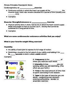 Printables Fitt Principle Worksheet fitt principles worksheet google search bio fitness principle powerpoint notes
