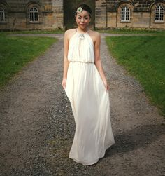Mags from The Smart Girl's Fashion Guide wore our Cream Jeweled Neck Maxi Dress!  Buy it here: http://www.rarelondon.com/cream-jeweled-neck-maxi-dress.html