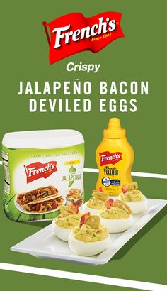 Jalapeno Bacon Deviled Eggs: this football party recipe is in it to win it.