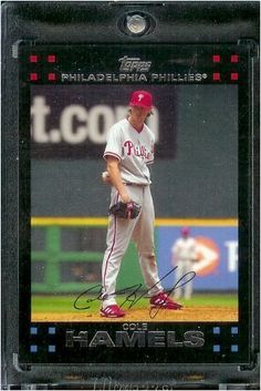 2007 Topps #55 Cole Hamels PhiladelphiaPhillies Baseball Card - Mint Condition - Shipped in Protective Display Case! by Topps. $0.01. 2007 Topps #55 Cole Hamels PhiladelphiaPhillies Baseball Card - Mint Condition - Shipped in Protective Display Case!