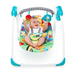 The Bright Starts Safari Smiles Portable Swing offers all the features of a full-size swing in much less space. Its innovative design provides superior comfort and safety, while keeping your child soothed and entertained surrounded by a fun jungle theme. Portable Baby Swing, Safari, Princess Coloring Pages, Baby Swings, Swinging Chair, Baby Needs, Cool Baby Stuff, Little Babies, Baby Car Seats