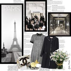 """Paris Shopping Time ..."" by greta-martin on Polyvore"