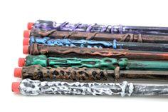 Harry Potter Wand PENCILS!! <--- *spongebob voice* I NEED IT!!!!