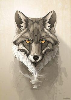 Животные от Rafapasta Животные, рисунок, львы, лиса, олень, тигр, рысь…