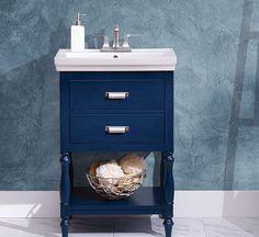 Vanities Sink Ideas - Floating Vanity - Rustic Modern Luxury - Modern Farmhouse Vanity Sink - Two Small Bathroom Sink Vanity - Built-in Vanities Sink Small Bathroom Sink Vanity, Home Depot Bathroom Vanity, Cheap Bathroom Vanities, Bathroom Vanity Lighting, Vanity Sink, Bathroom Ideas, Bathroom Carpet, Bath Ideas, 24 Inch Vanity