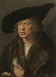 Portrait of an Unknown Man, 1524 // by Albrecht Dürer