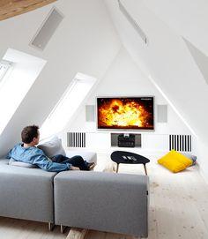 Osynlig Hi-Fi på tre våningar | Hi-Fi klubben