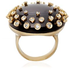 Carla Amorim Cube Libra Ring ($10,700) ❤ liked on Polyvore