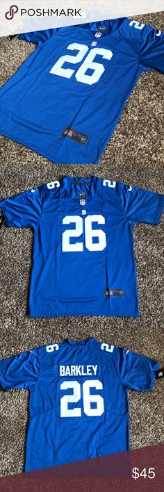 5b8e28c5a  26 Saquon Barkley New York Giants Jersey Brand new  26 Saquon Barkley New  York