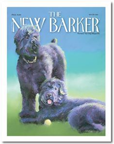 The winter 2013 issue of THE NEW BARKER, painted by Karren Garces, Artist, featured BRTs (the late, great) Drago and Zeus. #FloridaDogLover #TheNewBarkerDogMagazine #TheNewBarker