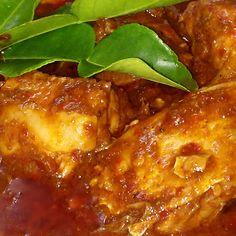 Pescado en salsa de tamarindo