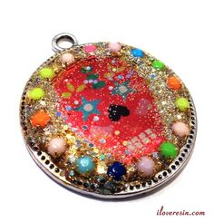 I LOVE RESIN: Sugar Skull Resin Filled Bezel