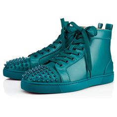 8f5cadf1389 CHRISTIAN LOUBOUTIN LOU SPIKES CALF Amazonia Calfskin - Men Shoes - Christian  Louboutin.  christianlouboutin  shoes