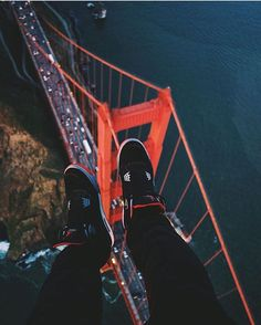"""""""Hanging out above the GGB photo by @thirdeyevisi0n"""""""