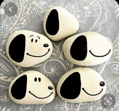 Rock Painting Patterns, Rock Painting Ideas Easy, Rock Painting Designs, Paint Designs, Rock Painting Ideas For Kids, Painting Animals On Rocks, Pebble Painting, Pebble Art, Stone Painting