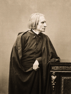 Franz Liszt at the height of his career as a composer.