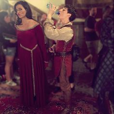 Day 25: Wallflowers at the Mother/Son Dance #30DaysOfGinny #OnceUponATime : @ginnygoodwin
