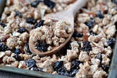 Cherry-Coconut Almond Pulp Granola
